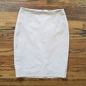 Limited light tan high waist pencil skirt size 0